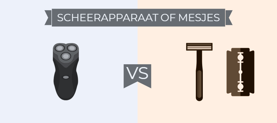 Scheerapparaat vs Mesjes