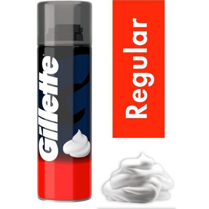 Gillette basic scheerschuim 3