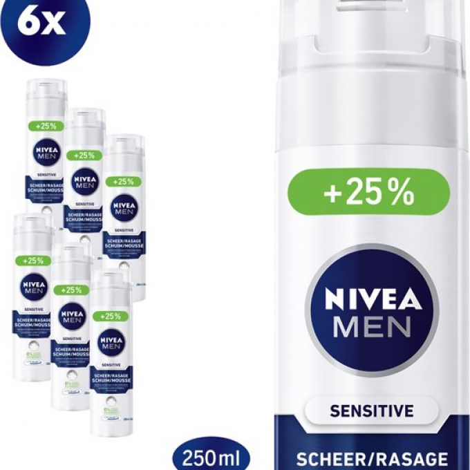 NIVEA MEN Sensitive scheerschuim